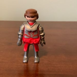 Red Playmobil Knight